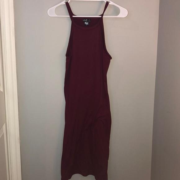 Macy's Dresses & Skirts - Burgundy Body Con Dress